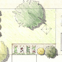 Private garden plan sketch from $350 +GST